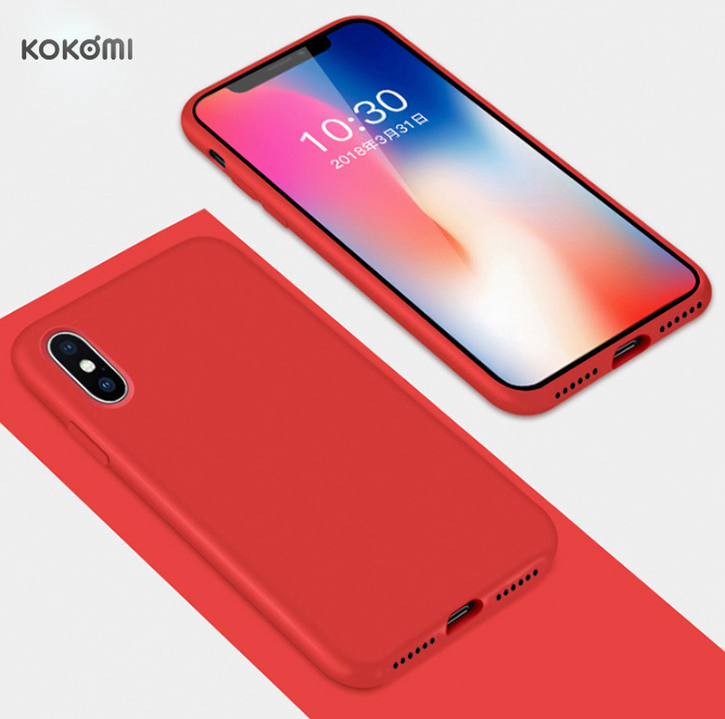 KOKOMI Fashion luxury <strong>microfiber</strong> liquid silicone phone casing cellphone case for iphone xr xs max x 8 7 7Plus 8plus cases