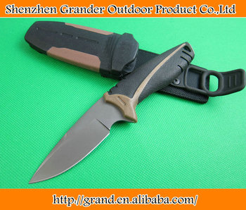 OEM tactical survival knives camping fixed blade knife rescue tool hand 5Cr17Mov 58HRC blade FRN handle 1649