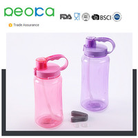 2000ml Large Capacity Tritan Wide Mouth BPA-Free Water Bottle