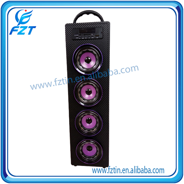 China supplier best 1200mAh battery steel pro audio speaker cabinet UK-22 wood with best price