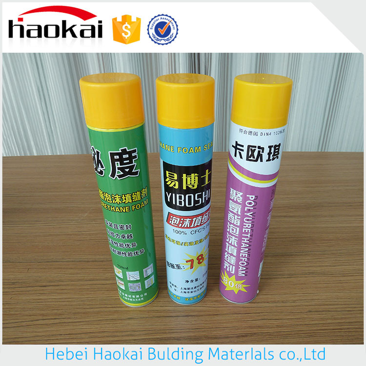 Transparent Structure waterproof Neutral Sealant 750ml Pu Foam