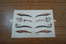 Eyes liner tattoo ,face sticker,eyeliner sticker supply cheapest price