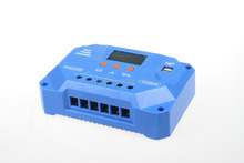 pwm li-ion 12/24v intelligent solar battery charge controller