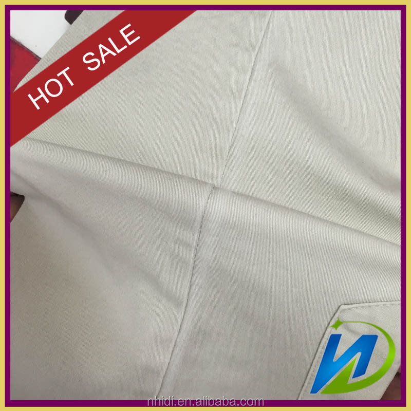 cotton 98% spandex 2% twill fabric for trousers or shirting