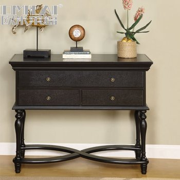 wooden dressing console modern table furniture