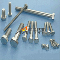 Price for Wholesale Car Using DIN933 Hex Head Gr5 Anodized Titanium Screw