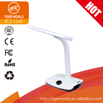Hot Sales Cold and Warm light Switch Rechargeable LED Desk Lamp