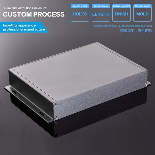229*35-D mm cable box custom aluminum hdd enclosure