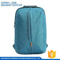 Miracle fashion waterproof canvas laptop backpack for school