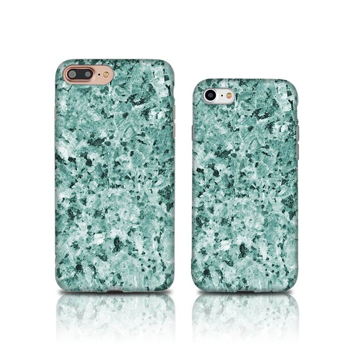 green marble IMD phone cover