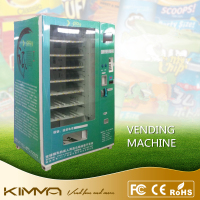 Robotic LCD Advertising Screen Display Glass Front Healthy Products Cosmetics Toys DVD Rental Kiosk Combo Vending Machine