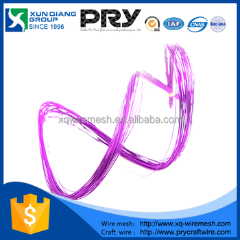 hot sell PET paper covered wire for artificial flowers