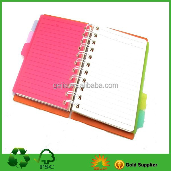 Exercise Notebook,Bulk Spiral Notebooks,Clear Plastic Notebook Covers