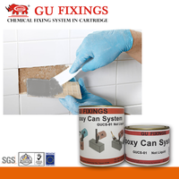 Construction glue for epoxy resin ab green marble tile adhesive