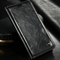 2016 New Arrival Wallet Leather Case with Flip Design magnet leather case for Samsung Galaxy Note 5