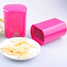 Reply fast Logo Customized Promotional Gifts french fries vegetable potato chipper/cutter with suction base