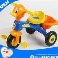 Wholesale New Children Baby Trike Toys Cheap Kids Tricycle With Back Seat