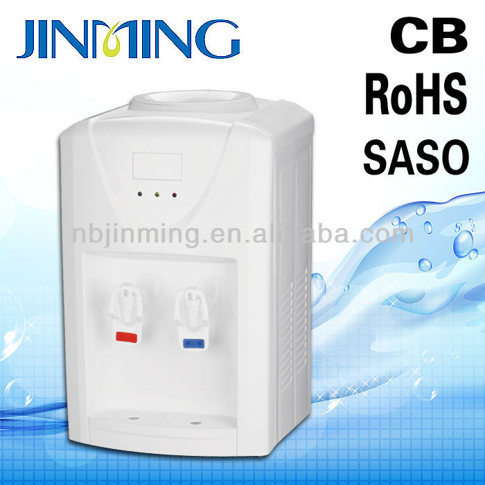 Ningbo Jinming best selling office/home/school portable/mini/small size plastic hot/cold water dispenser