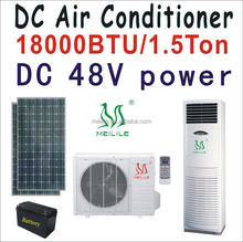 Dc 48 v tipo 18000btu aire acondicionado accionado solar air conditioner permanente DC-52GW