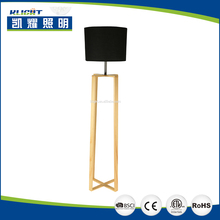 Modern design stand floor lamp with high quality for family and hotel decoration lighting, wrought iron temperature