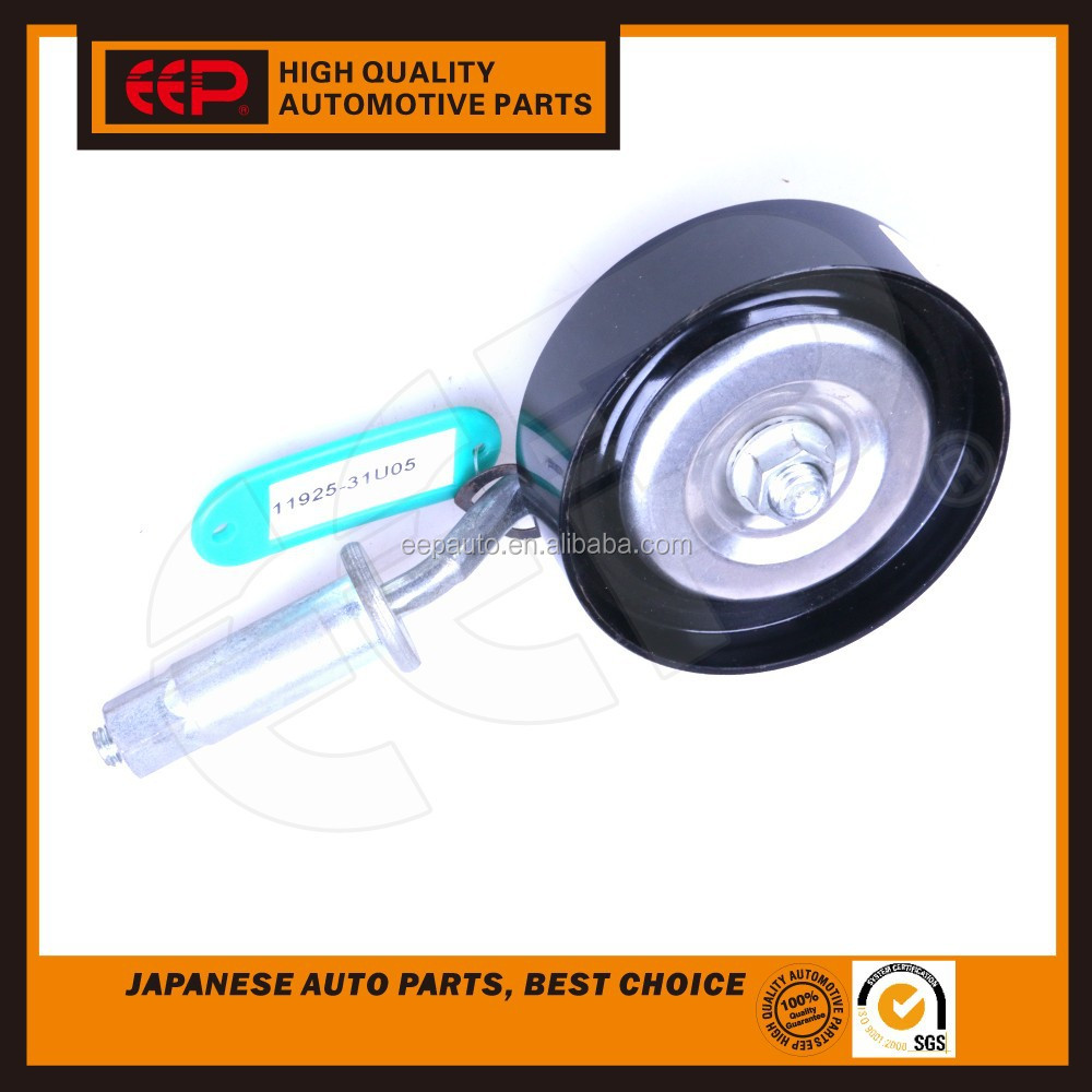 Belt tensioner pulley for Nissan SENTRA AXXESS FRONTIER PATHFINDER MAXIMA 11925-31U05 engine parts