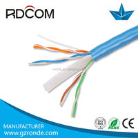 Wholesale!! UTP/SFTP/FTP/STP cat6 copper cable price per meter amp cat6 network cable utp cable for home applicance