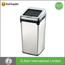Decorative Smart Stainless Steel Touch-Free Sensor Automatic Trash Can