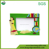 High quality colorful plastic PVC child baby picture images photo frame with the cheapest price
