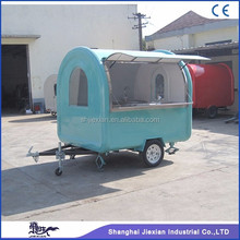 2017 Shanghai JX-FR220J invincible fast food mobile kitchen trailer