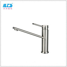 2016 Newest Kitchen Sink Mixer Tap Brush Nickel Factory Sale in Stock