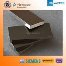 Neodymium N52 Grade Block strong thin magnet for Generator