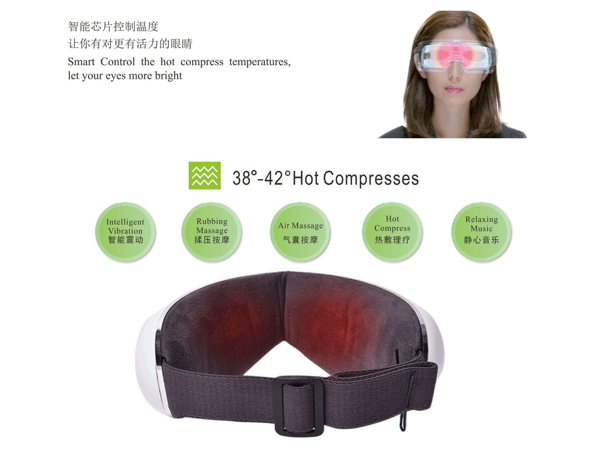 The best gift, Newmagic Eye Massager With Intelligent Air Pressure portable relax device