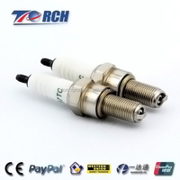 natural gas spark plug B7TC match with NGK CR7EIX, Denso IU22