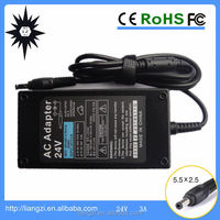 72W High Quality 24V 3A Power Supply 100-240V Power Supply LCD TV LG TV