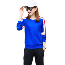 High quality oem sportswear women sport training jacket custom bodybuilding ladies track suits 2-piece suit
