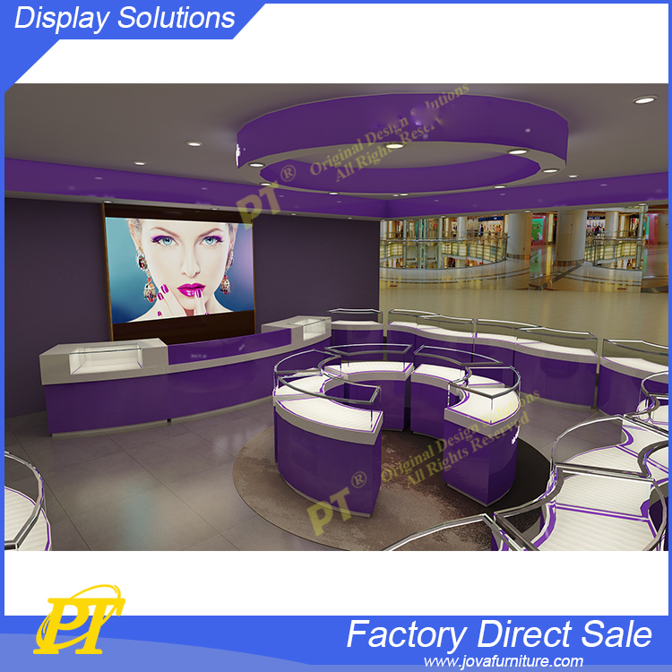 Fashion jewelry store design ideas interior jewellery showroom furniture