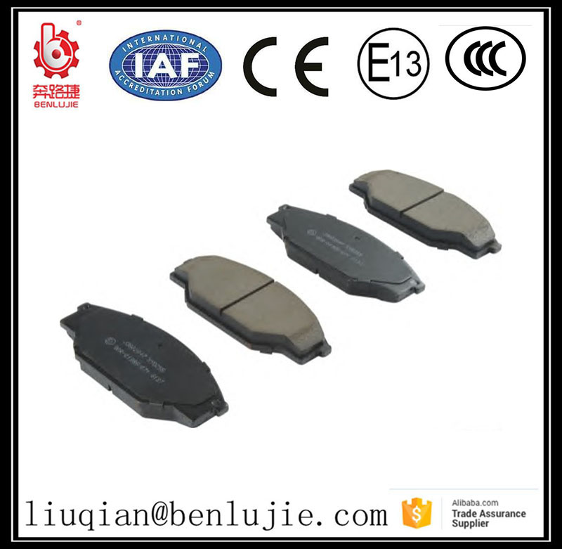Wholesale auto parts car nao front brake pads ceramic brake pad For Chevrolet gm
