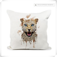 New Design Seat Sofa Cushion 100% Polyester Customized Digital Printing Pillow Covers