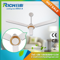 Alibaba china supplier New popular white ceiling fans with strong wind