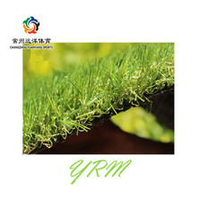 Its appearance looks like natural grass Non infill landscaping artificial turf