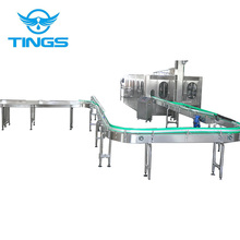 Filling machine for bottled in drinking water
