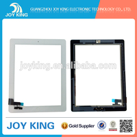 White lcd screen For Ipad 2 lcd Touch Screen With Frame