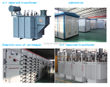 Factory Dyn11 20kv 1500kva three phase oil-immersed elctrical transformer