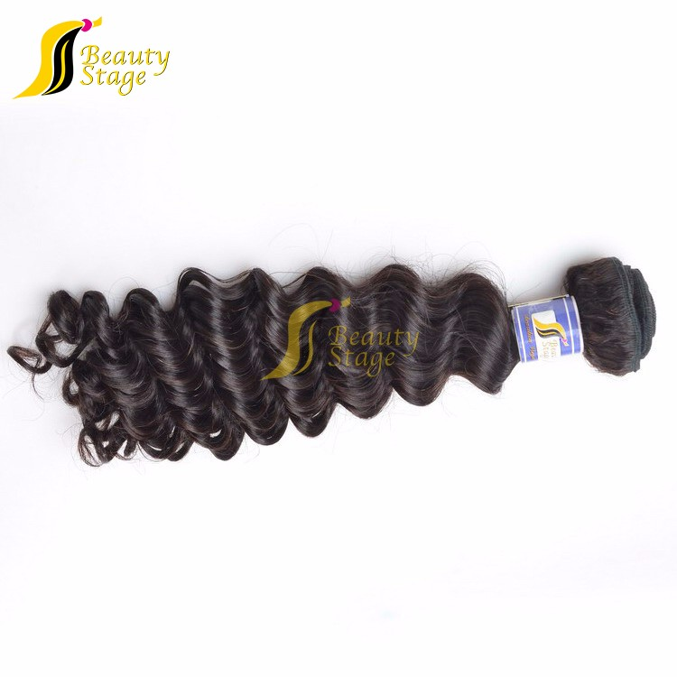 cheap virgin hair packaging 100% human hair without chemical
