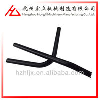 OEM ISO 9001 custom cnc bending powder coating wear resistant carbon seamless steel pipe tube