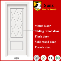 High Quality Exterior Door Solid Wooden Panel