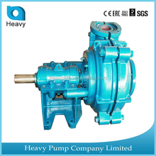 Diesel water high capacity centrifugal industry mining mud slurry pump