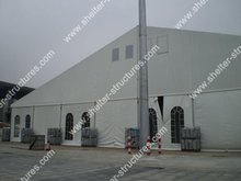 india outdoor marquee warehouse tent 30m x 40m