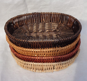 Eco-friendly water storage basket, small bread basket, bamboo fruit basket
