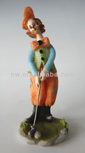 Resin Clown statues figurine